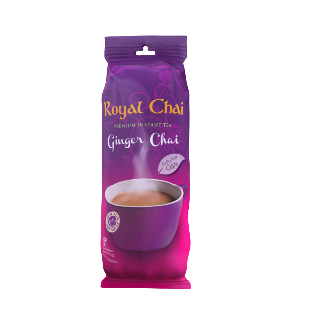 Ginger Chai Sealed Cups Sweetened